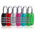 2017 Código de Seguridad De Aleación De Zinc 3 Combinación Maleta Del Viaje Del Equipaje Lock Candado