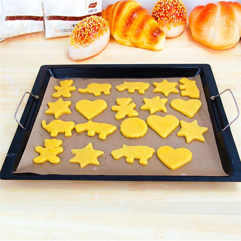 VOGVIGO Heat Press Pad Reusable Baking Mat Non Stick Craft Sheet Heat Resistant Easy to Clean BBQ Grill Baking Mats Macarons in Baking Pastry Tools from Home Garden