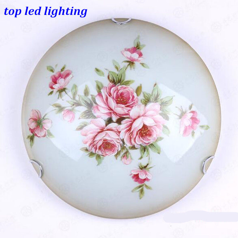 Vintage Hand Made Glass Ceiling Light for Bedroom Aisle Living Room Led E27 Ceiling Lamps Dia 30/40/50cm AC 80-265V 1144 victoria charles 1000 masterpieces of decorative art