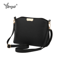 YBYT Brand 2017 New Simple Casual Women Satchel Hot Sale Lady High Quality Shopping Shell Bag