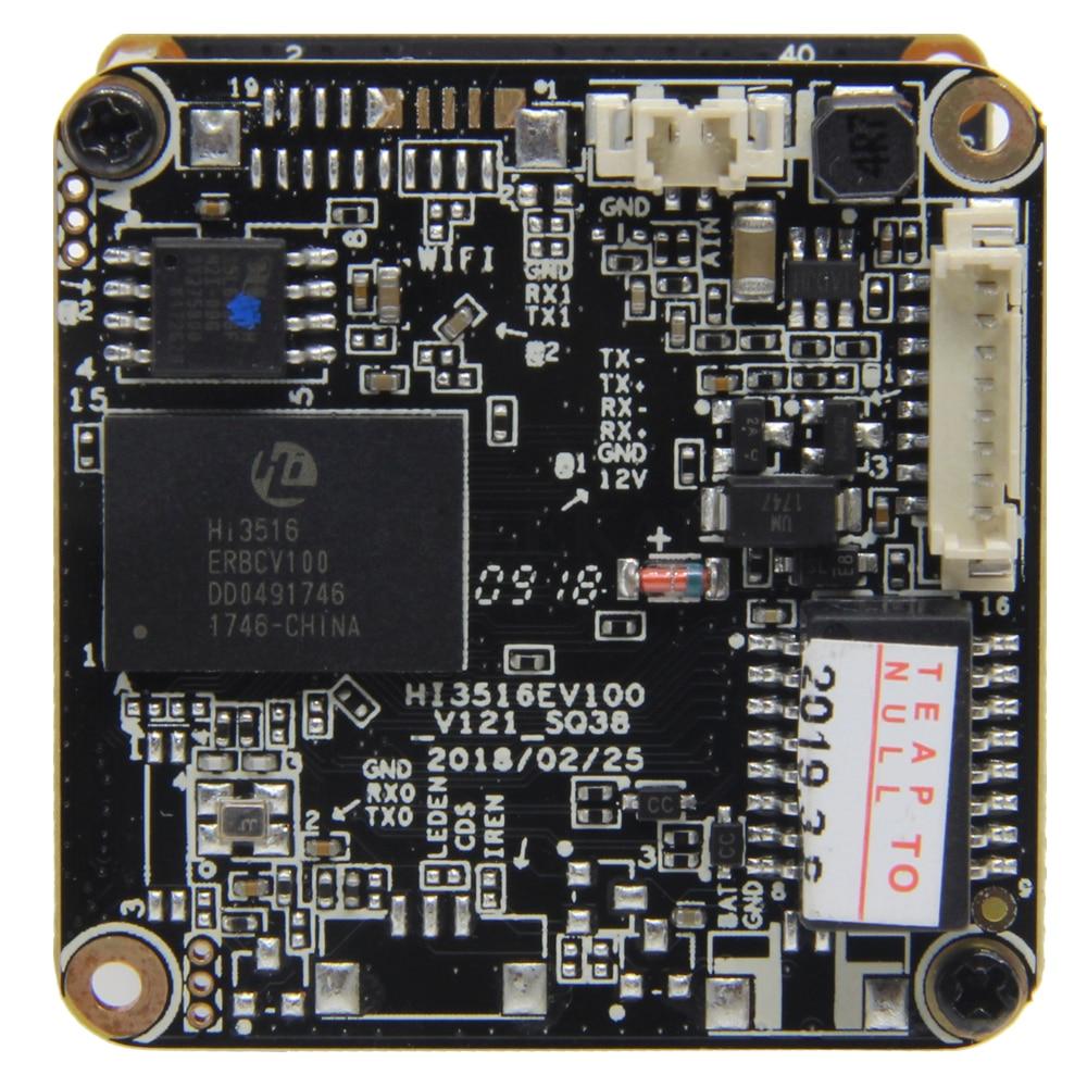 Image 3 - Starlight IP Camera 1080P H265 Module Board use SONY IMX307 Sensor and HI3516EV100 with F1.2 4mm Lens Free ShippingSurveillance Cameras   -