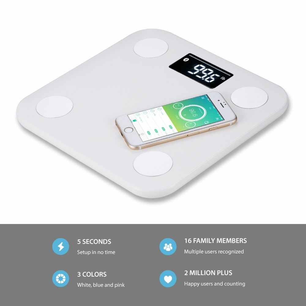 Xiaomi Mijia Yunmai Mini Smart Scale - Body Fat Scale with New FREE APP &  Body Composition Monitor work with For iphone 8 /X