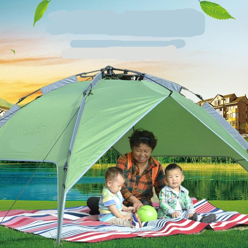 Image 5 - VILEAD Outdoor 200x200 CM 4 5 Person Moistureproof Waterproof Picnic Mat Camping Mat Tent Mat Baby Climbing Mat Suede Aluminum-in Camping Mat from Sports & Entertainment