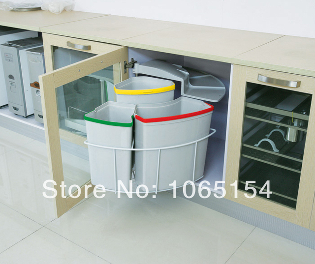 Beautiful Kitchen Recycling Bins For Cabinets Pictures Bathroom