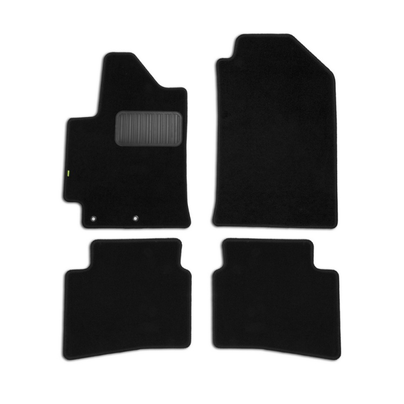 Mats in salon Klever Standard For HYUNDAI Solaris 2017->, сед... 4 PCs (textile) tcrt5000 reflective infrared sensor photoelectric switches 10 pcs
