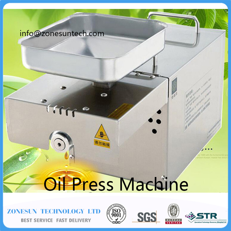 Home Automatic Oil Press Machine Nuts Seeds Oil Presser Pressing