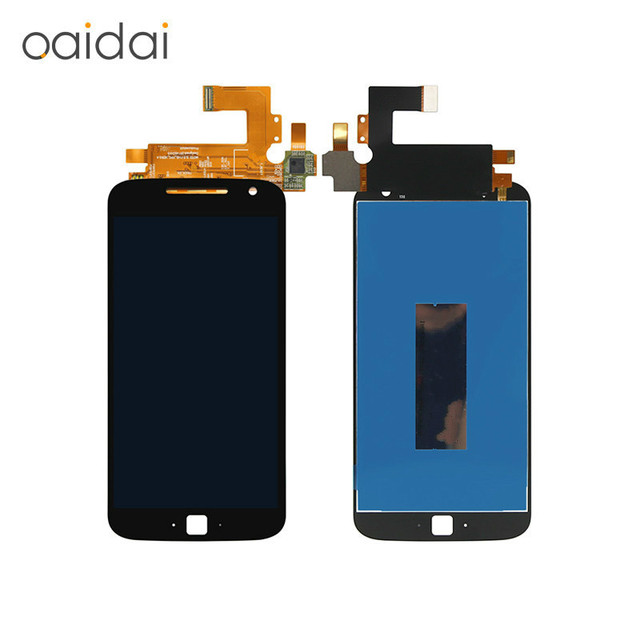 For Moto G4 Plus XT1644 XT1642 LCD Display Touch Screen Digitizer Assembly Replacement Parts Capacitive Screen With Free Tools