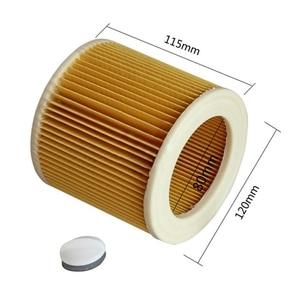 Image 2 - Sacs de rechange pour filtres à poussière dair, filtre HEPA, pièces détachées pour aspirateur karcher WD2.250 WD3.200 MV2 MV3 WD3