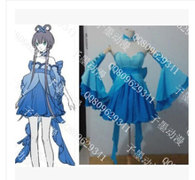 Hot Anime Vocaloid China Cosplay Lolita Anime Vestido Ropa Envío Gratis nuevo