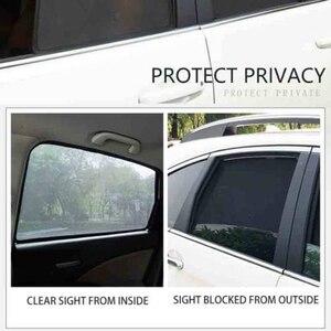 Image 5 - צד Windows מגנטי שמש צל UV הגנת Ray חסימת רשת מגן Fit עבור רנו Kadjar 2016 2018