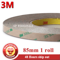 85mm 55M 0 17mm 3M 300LSE 9495LE Double Sided Coated Glue Adhesive Tape For Screen Foam