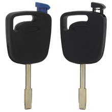 WhatsKey Uncut Blade Transponder Key Replacement Case Shell For Ford Escort Fiesta Focus Mondeo Transit