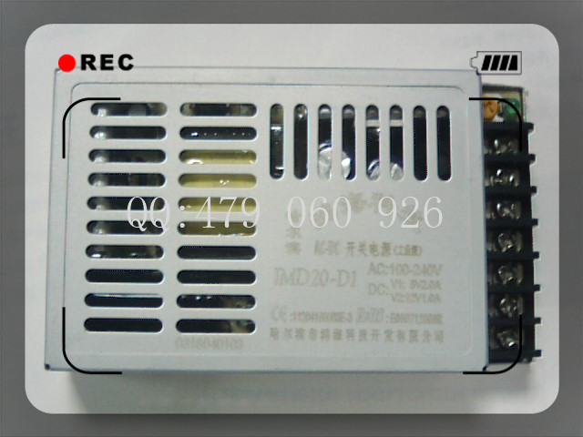 [ZOB] 20W JMD20 D1 5V2A 12V1A switching power supply two isolated 5PCS/LOT