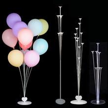 Wedding Balloons Decoration Balloon Stand Holder Column Stick Baloon Hawaii Tropical Party Balons Birthday Decor Baby Shower(China)