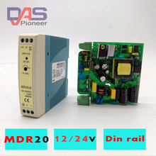 MDR-20 20W Single Output 5V 12V 15V 24V Din Rail Switching Power Supply AC/DC  Ultra-Thin  Din Rail Mounted Power Supply [sumger2] mean well original drh 120 24 24v 5a meanwell drh 120 24v 120w single output industrial din rail power supply