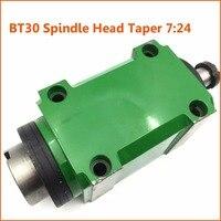 BT30 конус патрон 7:24 шпинделя блок 2HP 1500 Вт Мощность головы 1.5KW 3000 об./мин. для ЧПУ сверление скучно резки токарный станок инструмент