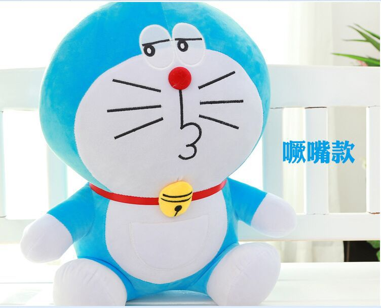 new lovely stuffed doraemon toy plush pout doraemon doll perfect