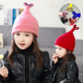 Fashionable NEW Lovely design Trendy Winter Baby Beanie Hat Cap Warm Cute Kids Boys Girls Toddler Knitted Free Ship DE12