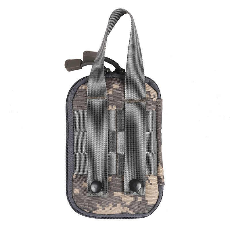 Тактический Военный Открытый спортивный пояс твердая Спортивная охотничья сумка на пояс EDC Кемпинг Туризм телефон сумка кошелек