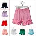 3 M-10 T de Algodón Pantalones Cortos de La Colmena Marrón Toddler Girls Shorts Niños de Punto de Formación de Hielo Bebé Pantalones Cortos de Verano Para Niños ropa Shorties