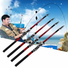 Ultra Light Telescopic Fishing Rod Pole Portable Fishing Pole Fishing Accessories 1.8M/2.1M/2.4M/2.7M/3M Hot