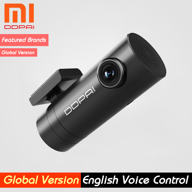 Ddpai Cam-Camera Body-Power-Interface Rear-Record Night-Vision English Dash Xiaomi Mini