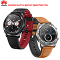 Huawei Ehre Uhr Magie SmartWatch NFC GPS 5ATM Wasserdicht Herz Rate Tracker Schlaf Tracker Arbeits 7 Tage Nachricht Erinnerung