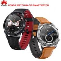 Huawei Honor Watch Magic SmartWatch NFC GPS 5ATM водонепроницаемый сердечного ритма трекер сна работает 7 дней сообщение напоминание
