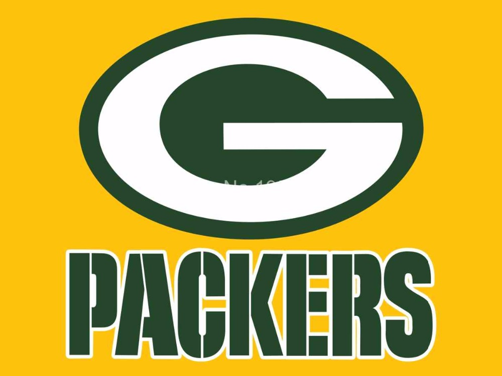 Green Bay Packers Logo Car Flag 12x18inches Double Sided