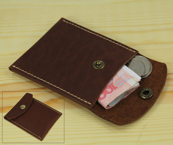 Handmade Genuine Leather coin purse Wallet Pouch coin holder small men wallet Leather women purse money bag credit card holder noenname handmade fashion flower embroidery design purse high capacity women card coin wallet national style ladys bag