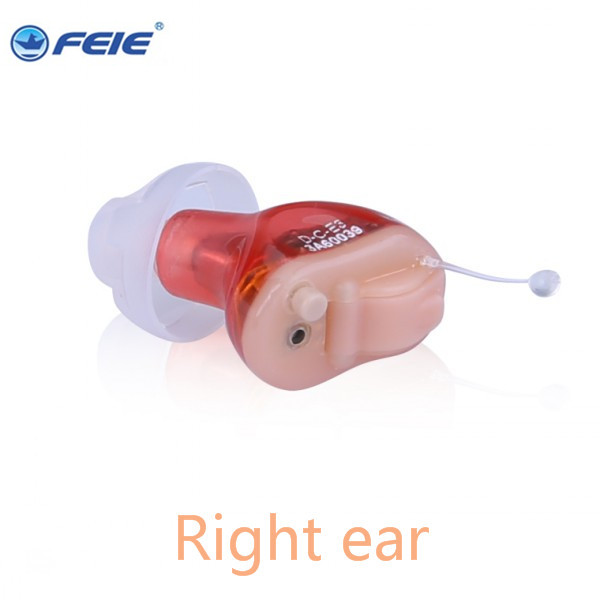Mini Ear Sound Amplifier Personal Assistance Products Digital CIC Hearing Aid feie S-17A feie company digital programmable mini in ear hearing amplifier cic aparelho auditivo invisivel s 12a online sale