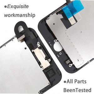 Image 4 - フル iphone 7 7 グラム 7 プラス液晶画面、フロントカメライヤホンスピーカーバックプレートディスプレイタッチスクリーンの交換