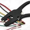 Саморегулируемые плоскогубцы для изоляции диапазон зачистки проводов 0 03-10 мм2 резак для зачистки плоский носовой кабель для зачистки