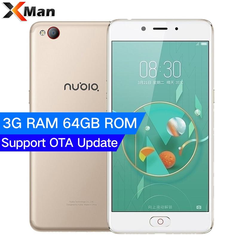 Original ZTE Nubia M2 LITE 3G RAM 64GB ROM 4G LTE MT6750 Octa Core Android M 5.5