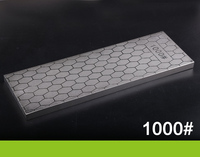 RSCHEF 400 1000 grit doppelseite Neue design diamantmesser schärfstein schlittschuhe messer schärfen stein grit