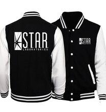 Звезда s.t.a.r. Labs бейсбольные куртки мужчины 2017 Весна Лидер продаж Slim Fit пальто толстовки мужские брендовые скейтборд куртка плюс Размеры S-5XL