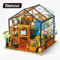 Robotime 3Dไม้ปริศนาDIYแฮนด์เมด