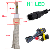 H7 H4 H1 H11 9005 9006 dual color golden White Color Led Headlight Bulbs Conversion Kit Waterproof 11000LM Driving Fog Light
