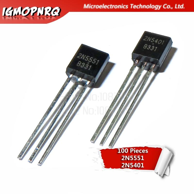 100Pcs 2N3904 TO-92 NPN General Purpose Transistor CA New