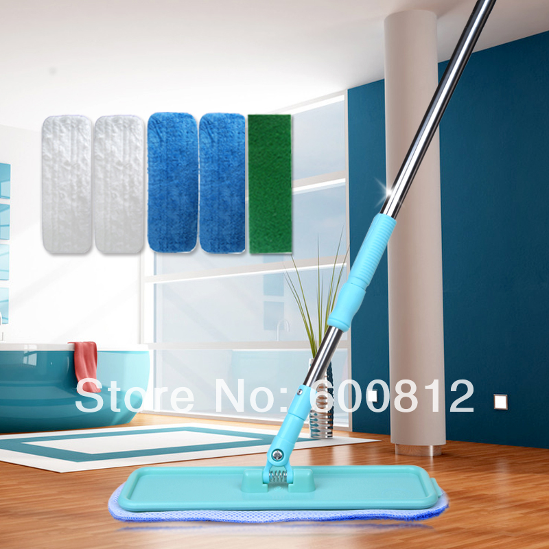 Aliexpress.com : Buy Household wood floor big electrostatic mop flat plate  mop rod replacement 5 cloth Floor sweepers from Reliable mop sweeper  suppliers on ... - Aliexpress.com : Buy Household Wood Floor Big Electrostatic Mop