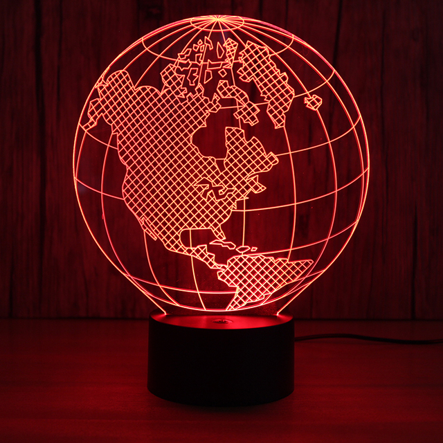 3d led visual world map night lights kids gifts usb light fixture 3d led visual world map night lights kids gifts usb light fixture table lamp lampara earth gumiabroncs Choice Image