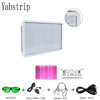 Yabstrip LED grow light 1200W 1200leds Full Spectrum for Indoor Greenhouse grow lamp tent plants grow led light Veg Bloom mode