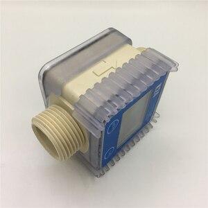 Image 4 - K24 אלקטרוני טורבינת מד זרימת חיישן עבור דיזל, אוריאה, נפט, בנזין, מים, אור שמן