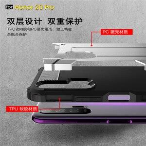Image 4 - Pour Huawei Honor 20 Pro étui armure en caoutchouc robuste étui rigide pour Huawei Honor 20 Pro couverture pour Honor 20 Pro étui Youthsay