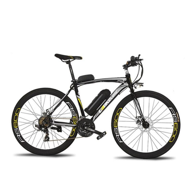 Cyrusher RS600 Road bicicleta eléctrica 240 W 36 V 15HA batería de litio 21 Speed 700Cx28C 50 cm marco de acero al carbono con pantalla LCD inteligente