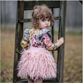2016 INS Hot Princess Skirt Sweet Pink Baby Girl Tutu Skirts Summer&spring Clothes for Height 80-110cm