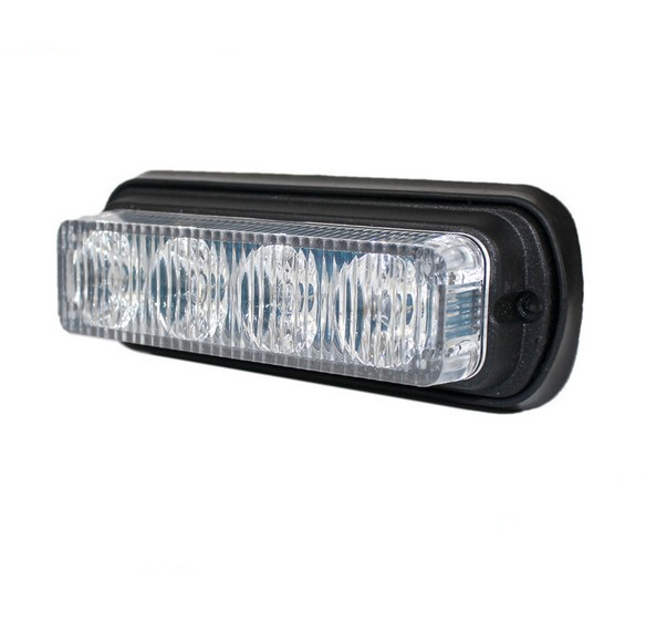 Car Truck 4 LED Emergency Beacon Light Bar Hazard Flash Strobe Warning blue red white стоимость