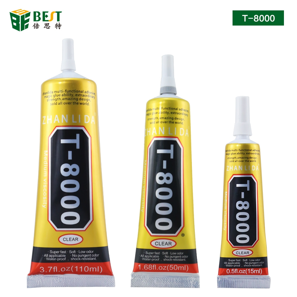15 Ml 50ml 110ml T8000 Cell Phone Adhesive Glue For Mobile Touch Screen