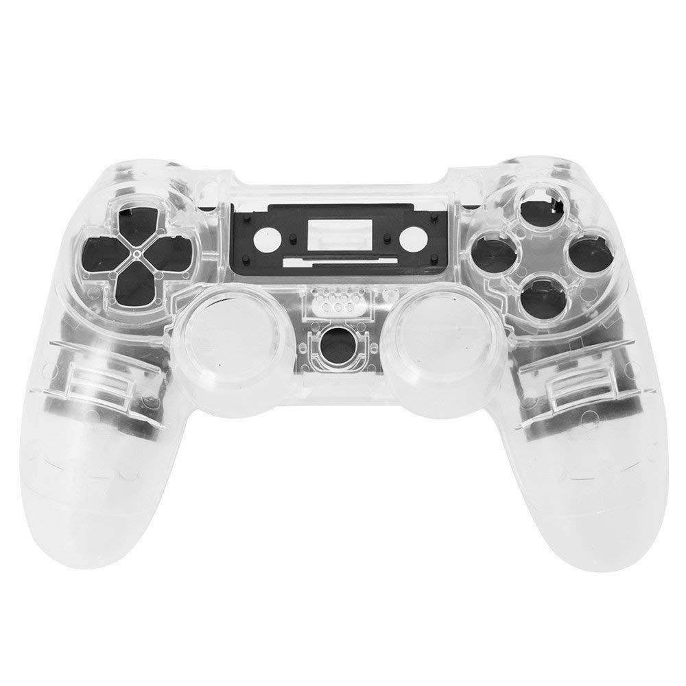 PS4 V1 Controlador Personalizado Limpar Transparente Caso Capa Shell Habitação Repair Kit Mod Para Sony Playstation PS 4 4 Limitado edição