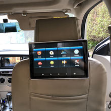 11.8 Inch Car Monitor Headrest 1920X1080 4K HD Screen With Wifi Bluetooth For Toyota Android 8.1 Rear Seat Entertainment System 11 8 inch car screen for dodge android headrest monitor with rear seat entertainment system
